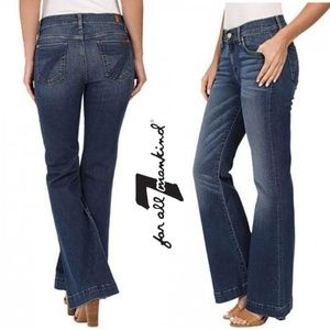7 for all Mankind Tailorless Dojo Melrose size 28